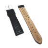 Curea ceas piele naturala Arcadia 3K2, 18mm, neagra