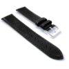 Curea ceas piele naturala 2A1-20mm HCraft, neagra