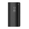Husa Flip Carte CLEAR VIEW Huawei P40 Lite E, Negru